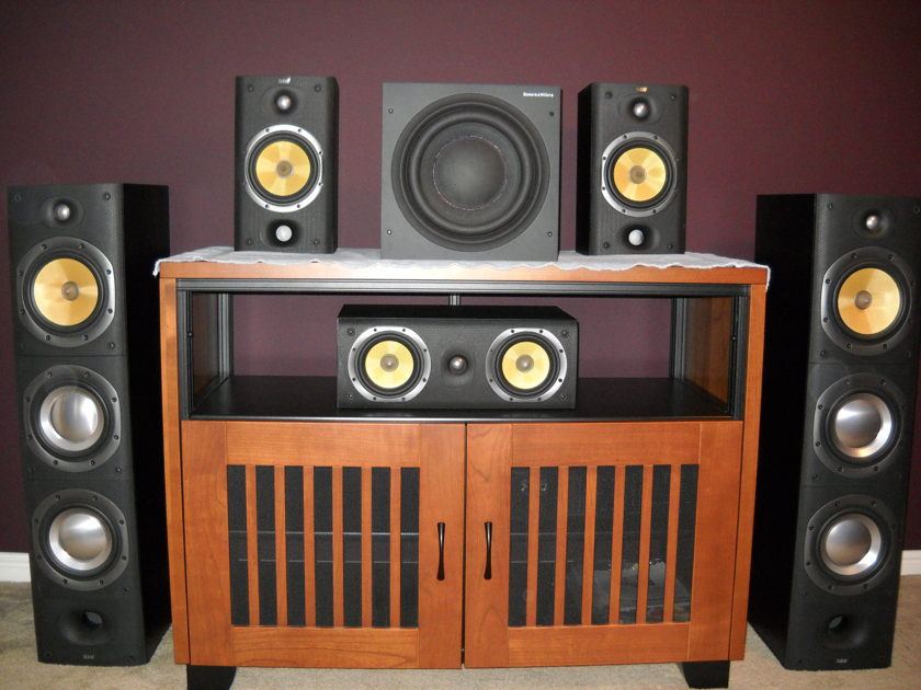 B&W DM604 S3 Floorstanding Speakers