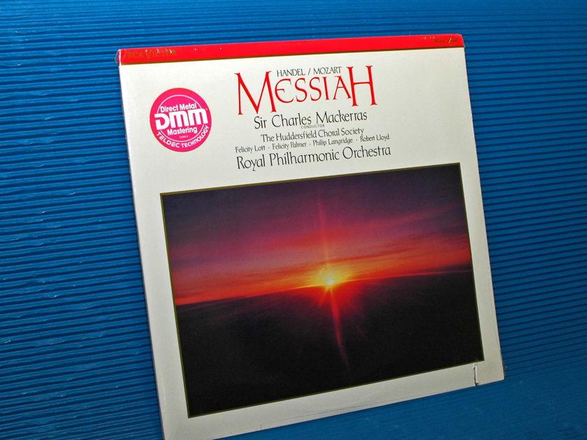 "HANDEL / MOZART / Mackerras   - ""MESSIAH"" -  RCA 1988 Direct Metal Mastering SEALED"