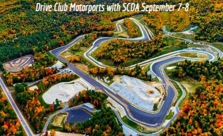 SCDA- Club Motorsports- 2 Day Track Event- Sep.7-8