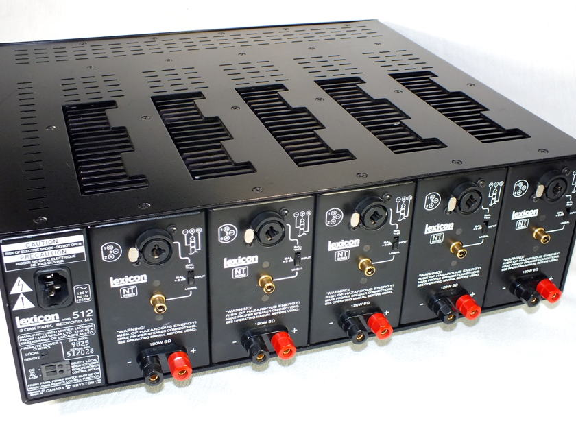 LEXICON NT512 5-Channel Amplifier (THX-Ultra  Certified); Fully  Refurbished; 1-Year Warranty; Just reduced - Now 69% Off