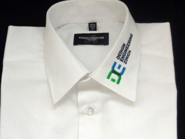 Hemden besticken für Design Engeniering