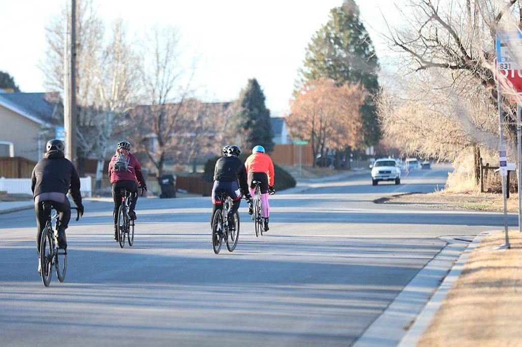 James lawrence biking down road