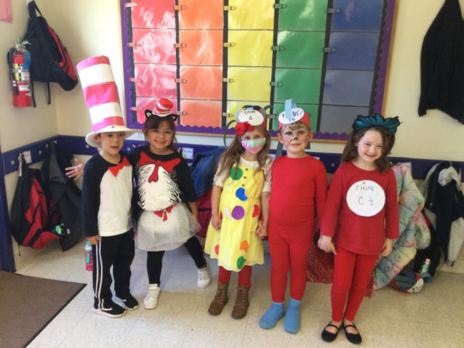 Read Across America Day celebrated with Dr. Seuss Dress-up & Book Donation