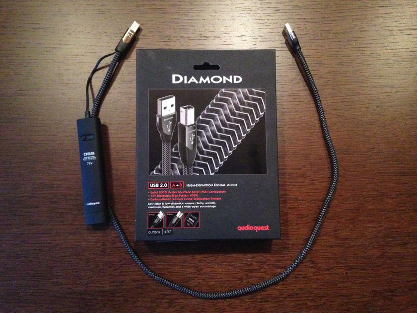 Audioquest Diamond USB A-B 0.75m