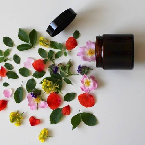 image d'un produit cosmétique naturel