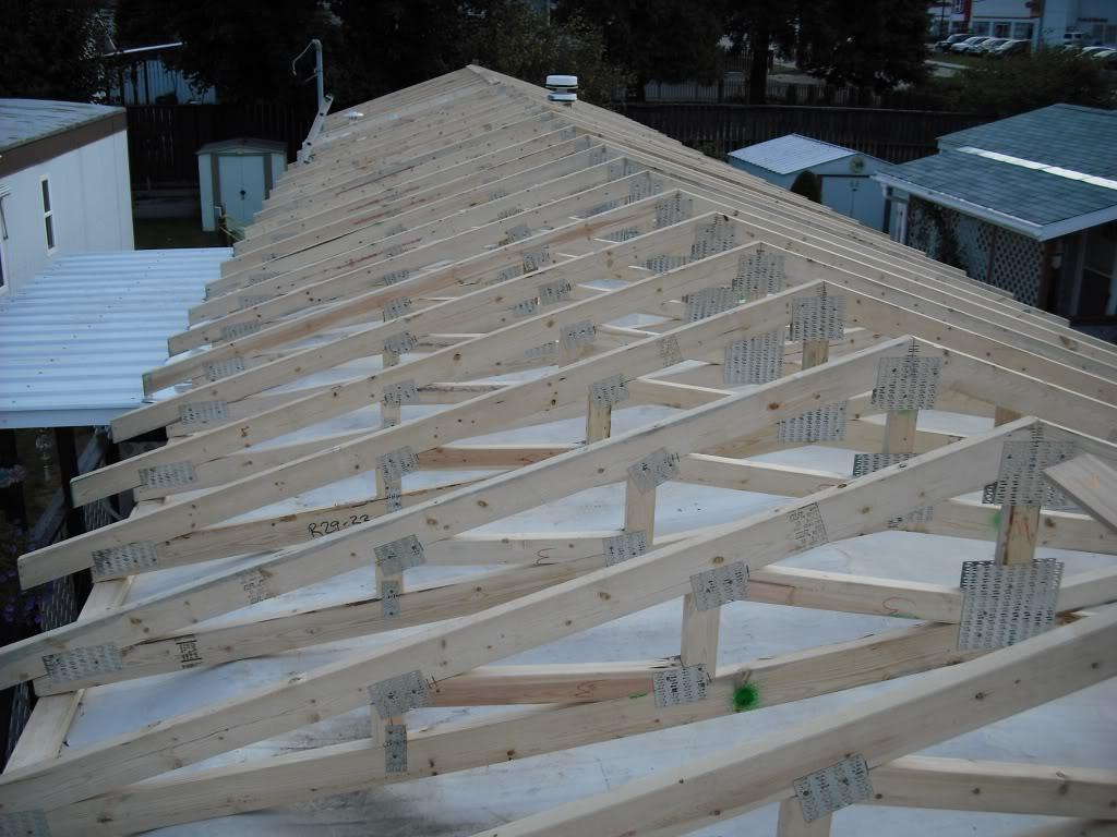 metal mobile home roof