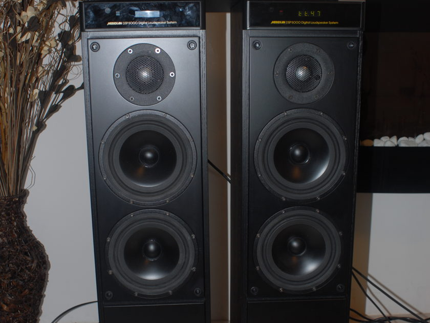 Meridian G98 HD / DSP5000 system w cables, complete.