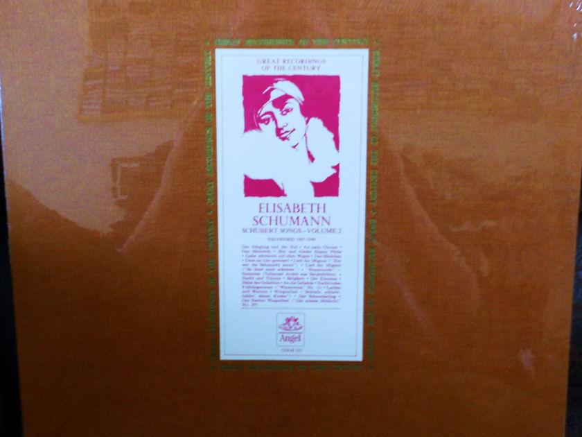 FACTORY SEALED ~ ELISABETH SCHUMANN ~  - HUBERT~SONGS VOLUME 2 RECORDED 1937-49 ~ EMI/ANGEL COLH 131 (1962)