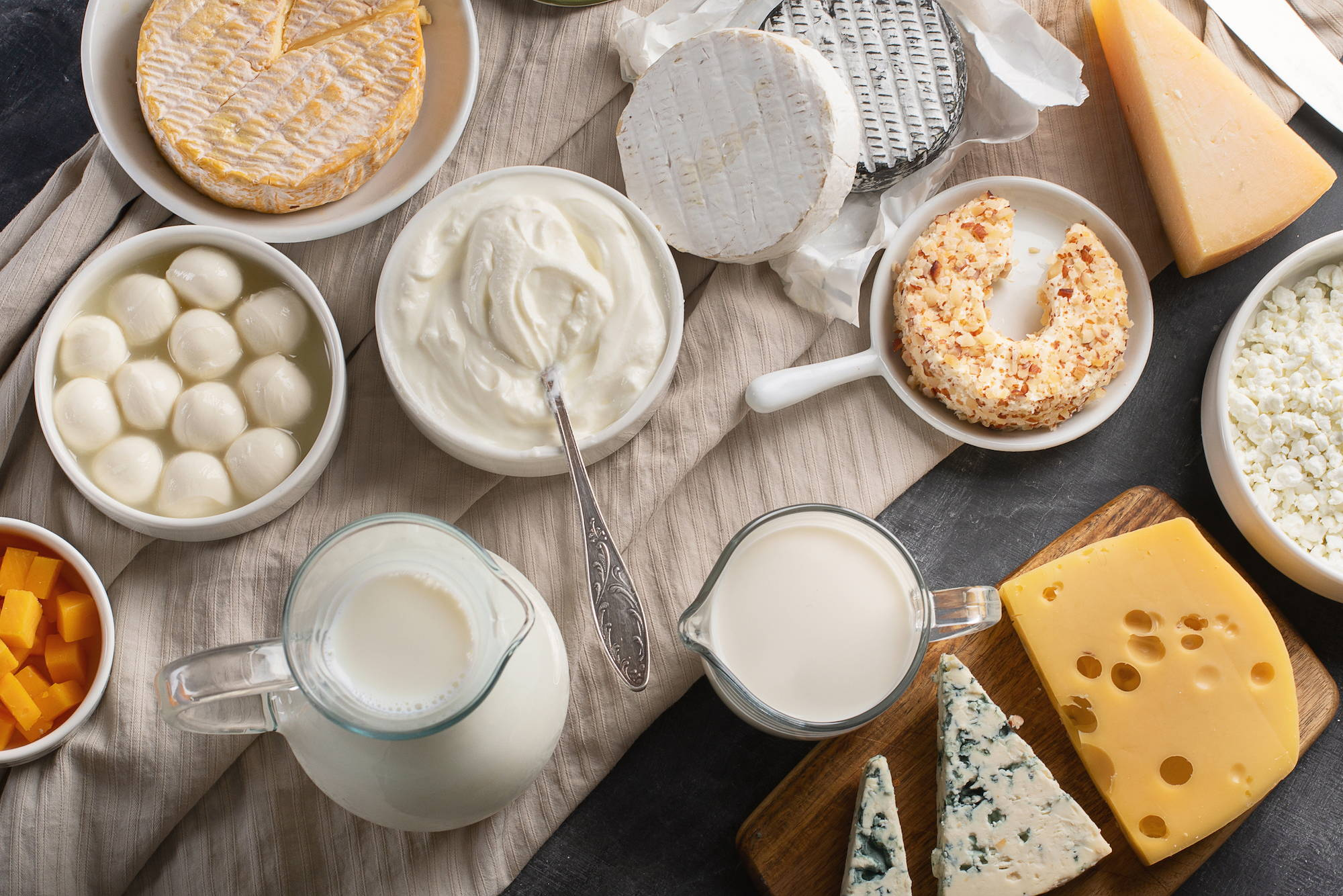 Image of dairy rich foods