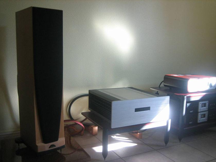Spendor  S6 two way floor maple speaker