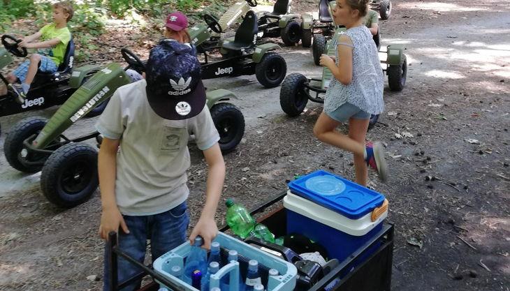 gokart spaß jeep gokarts im wald ap