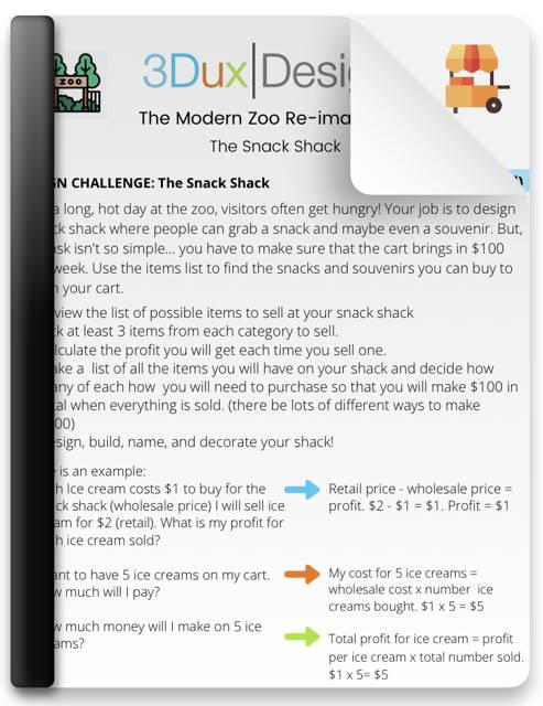 tiny house challenge lesson plan