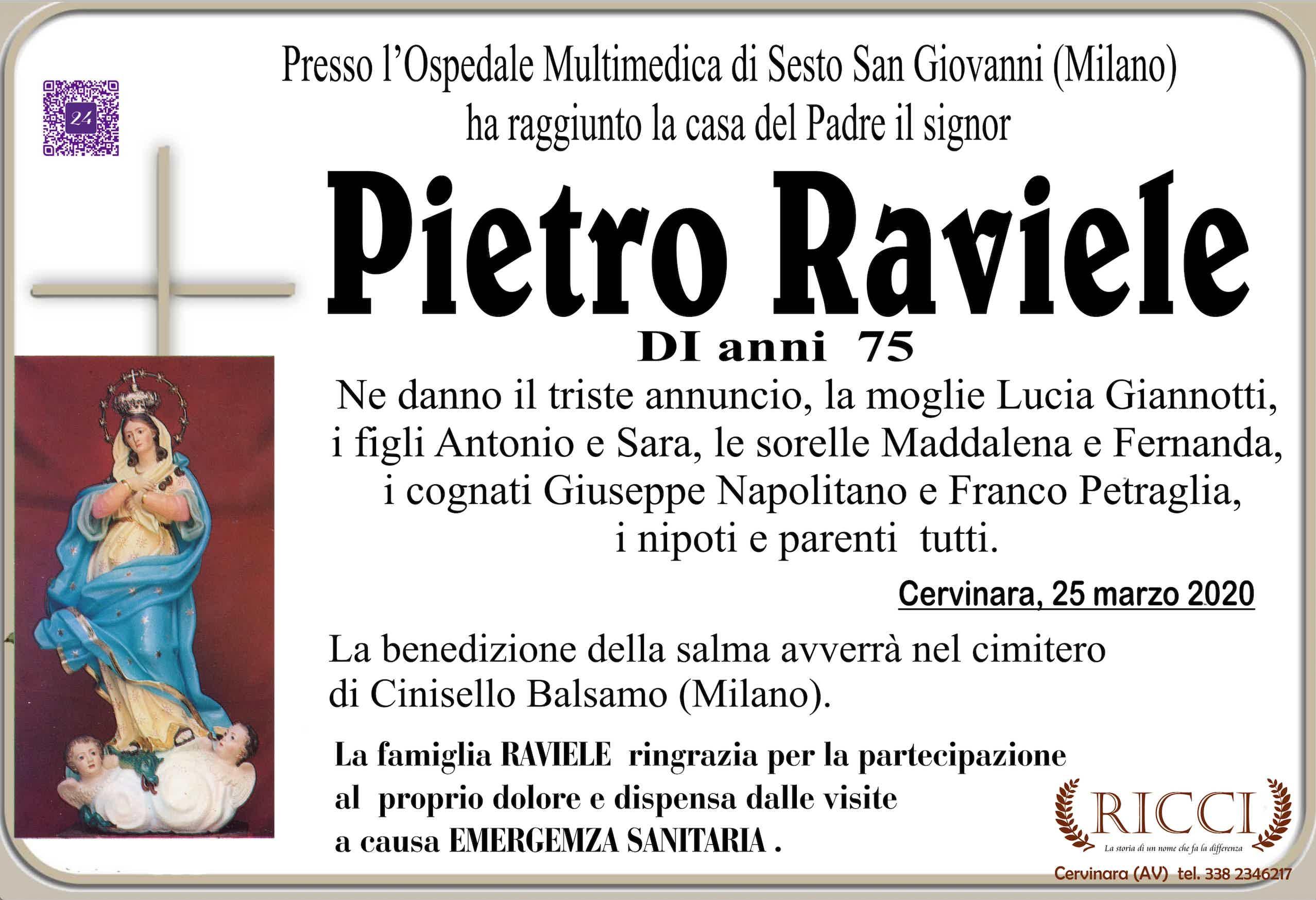 Pietro  Raviele