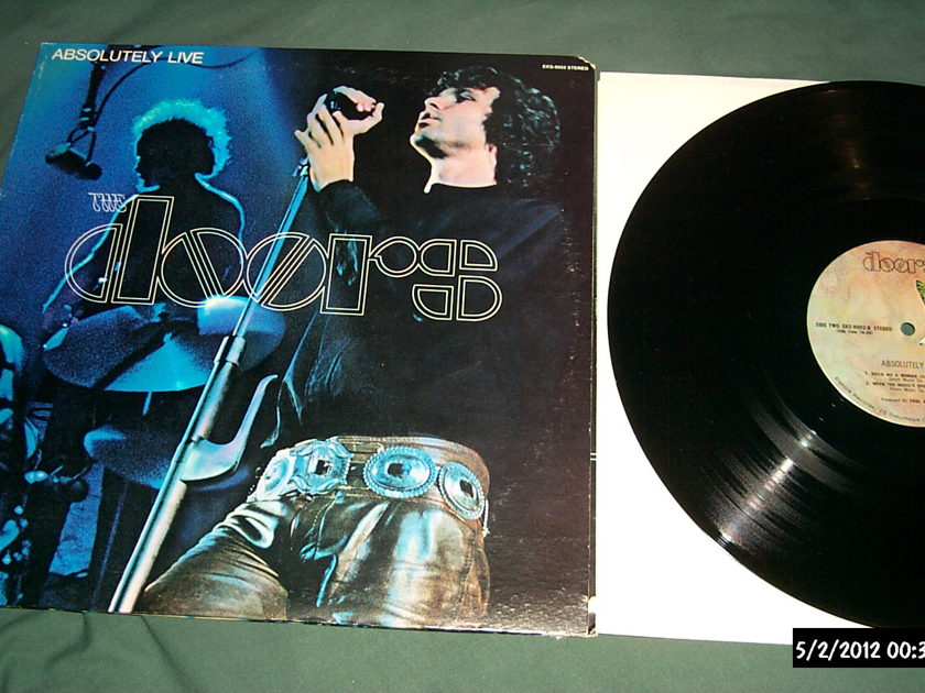 The doors - Absolutely Live 2 lp nm elektra butterfly label