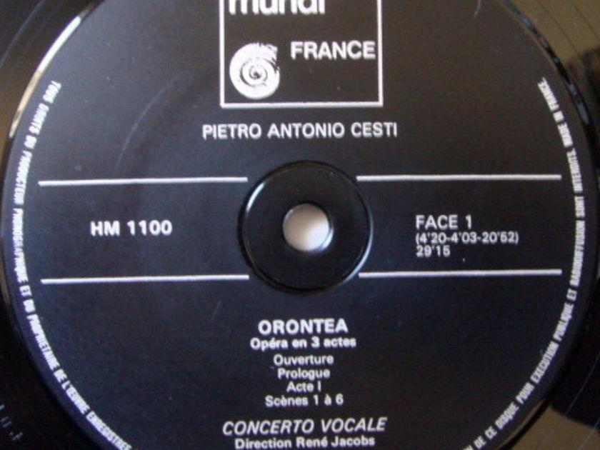★Audiophile★ Harmonia Mundi / RENE JACOBS, - Cesti Orontea, NM, 3LP Box Set!