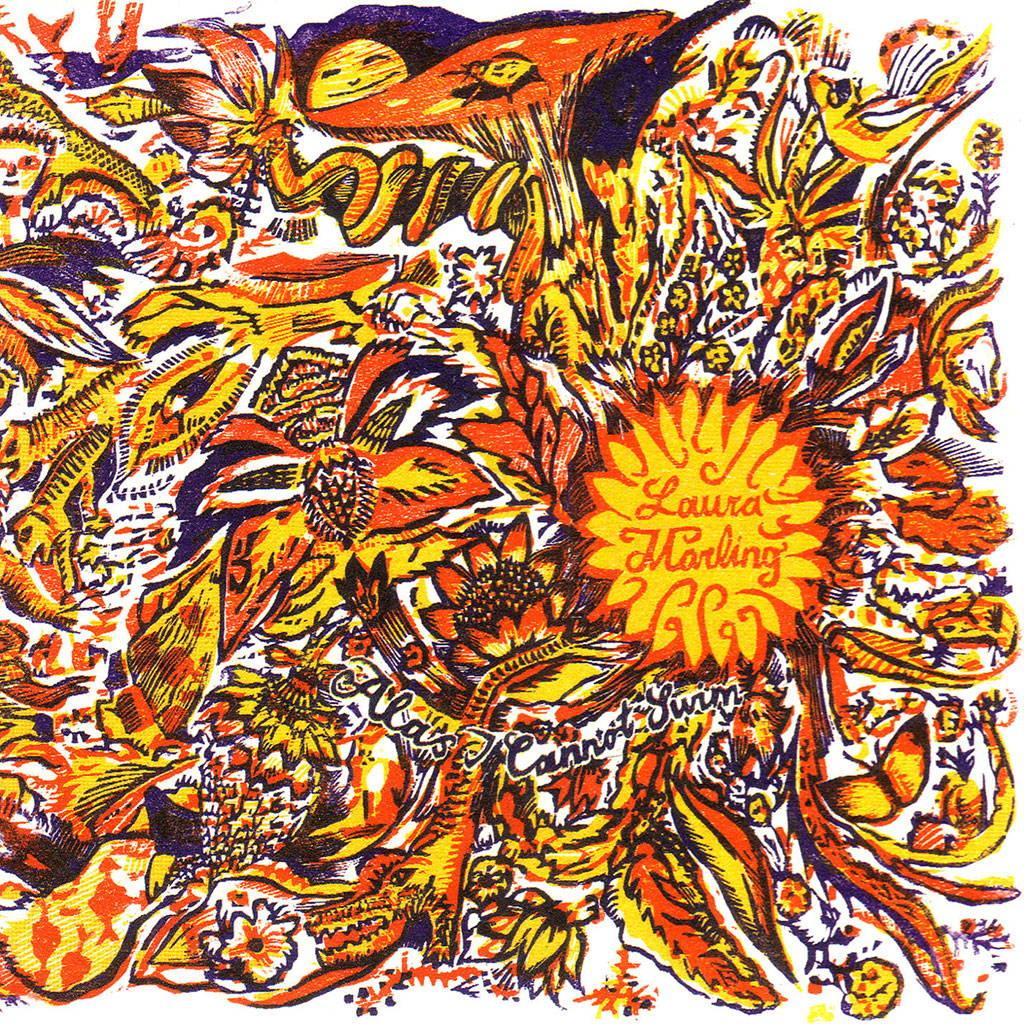 Laura Marling 'alas i cannot swim' album cover