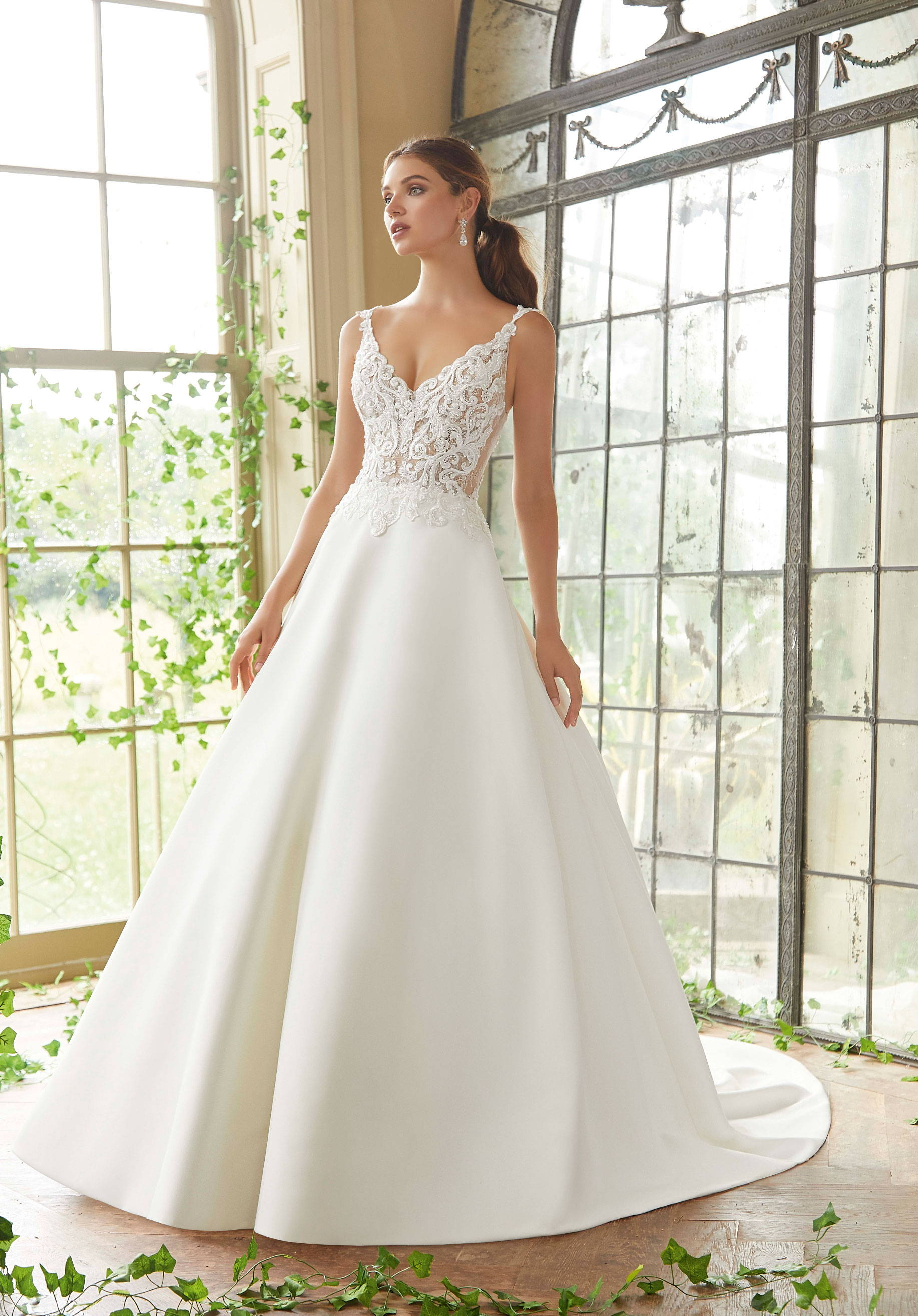 MORI LEE  WEDDING DRESS 5716