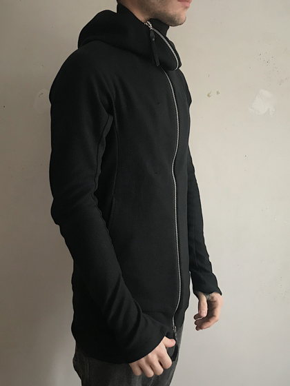 концептуальная ниндзя кофта с капюшоном на молнии N13L