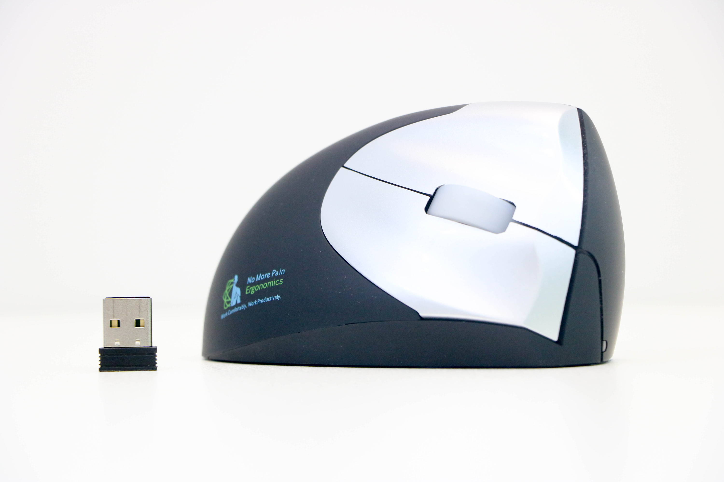 Ergonomic mouse for carpal tunnel syndrome