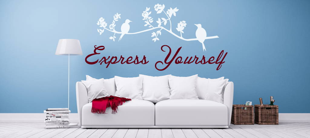 Custom Wall Decals & Lettering