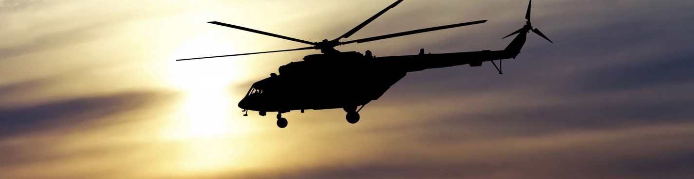 Полет на вертолете над Петергофом