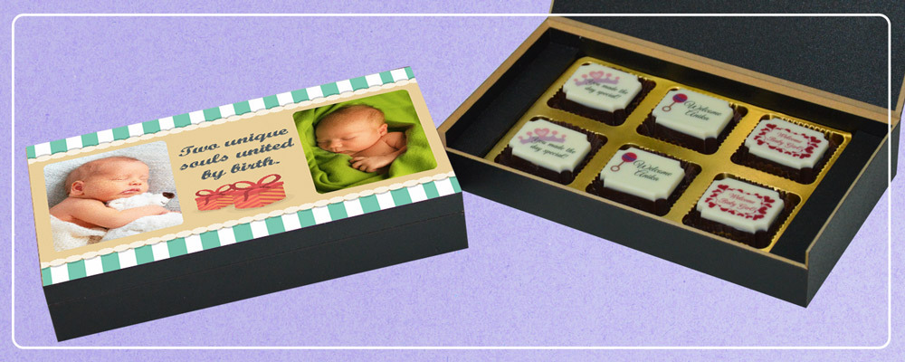 Birth Announcement Gifts I New Baby Announcement Gifts Chococraft