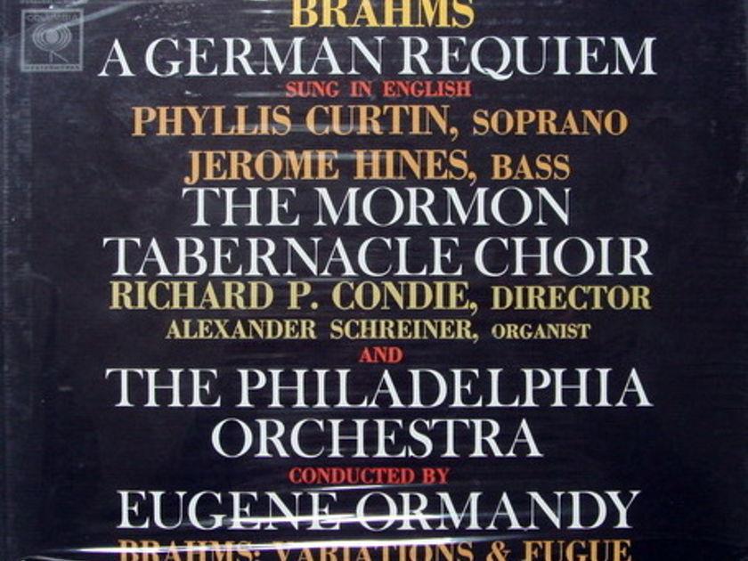★Sealed★ Columbia / ORMANDY, - Brahms A German Requiem,  2LP Box Set!