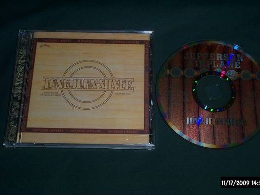 Jefferson Airplane - Long John Silver rare out of print grunt cd