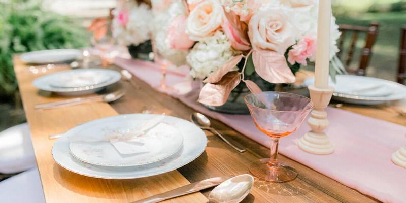Whimsical Pastel Wedding