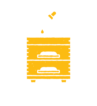 natural beekeeping honey sampler icon