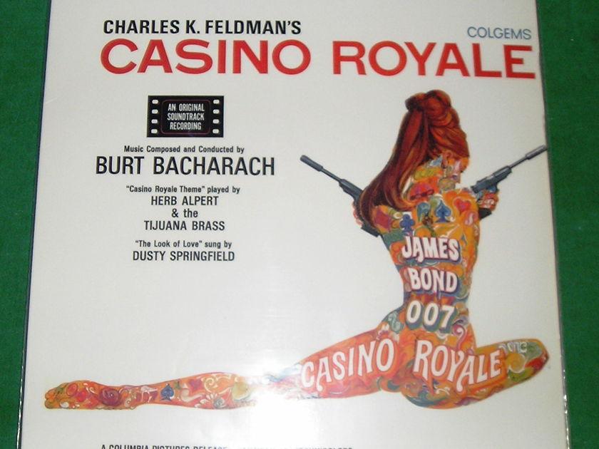 CASINO ROYAL MOVIE SOUNDTRACK - CLASSIC RECORDS 200 GRAM PRESS * NM 9/10 *