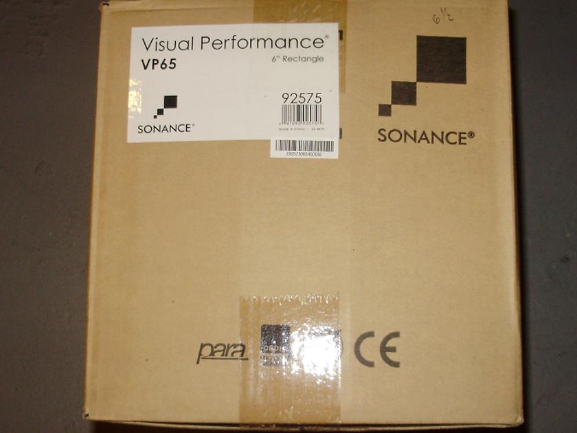 SONANCE VISUAL PERFORMANCE VP65 Brand New,Killer speakers