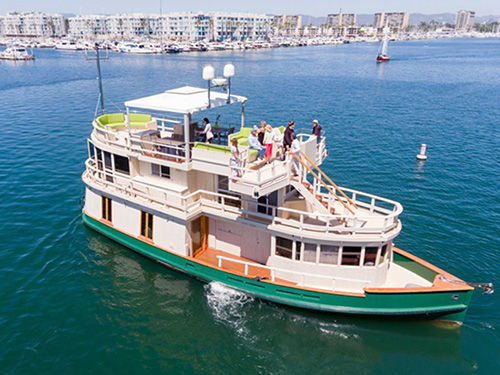 100-year-old ferry from L.A. now on sale as exclusive yacht