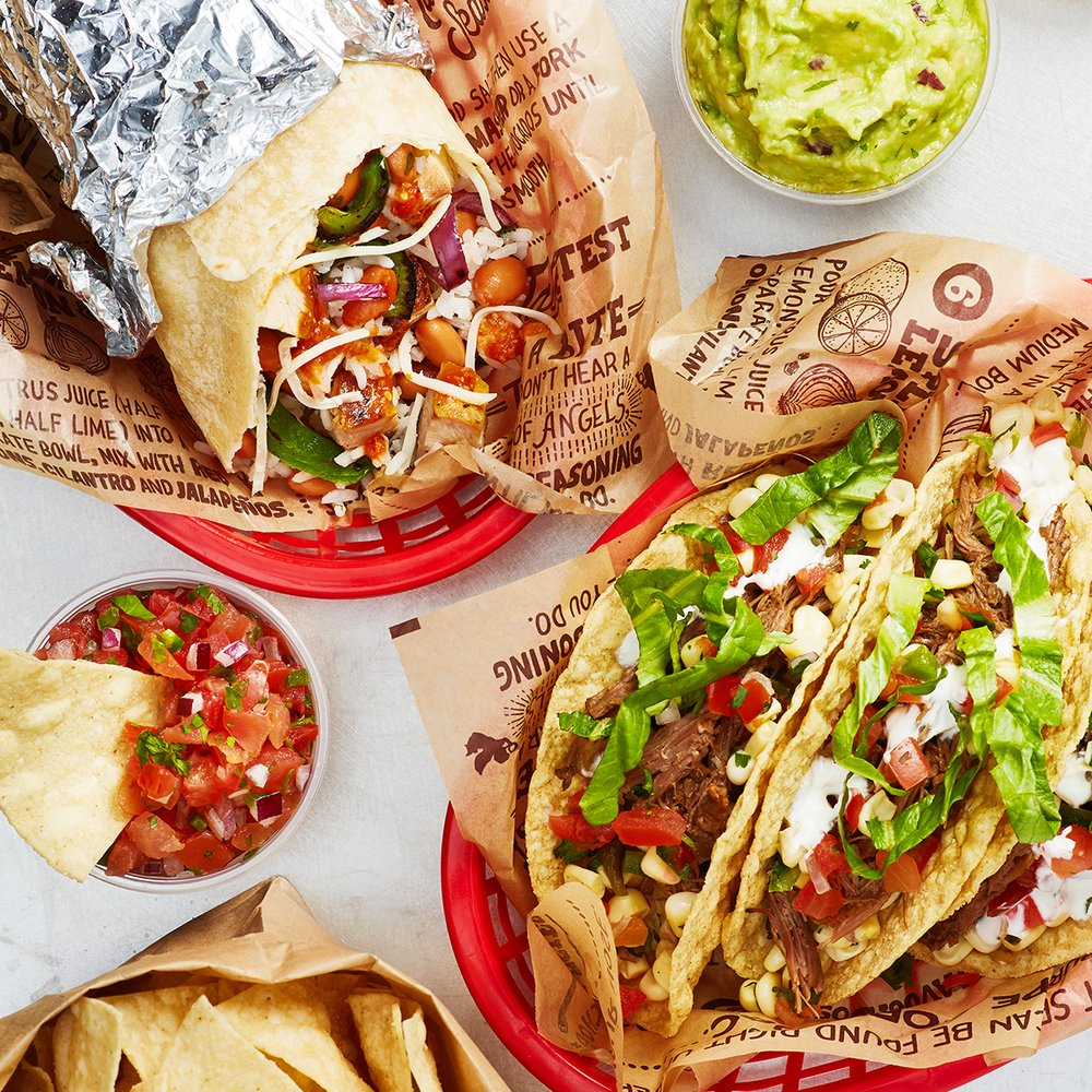 "Picture of Chipotle Mexican Grill locations have switched temporarily to a ""to-go only"" option"