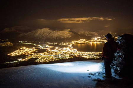 Night Ski Tour with Headlamp