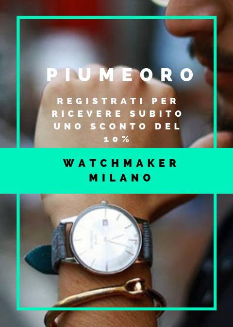 Sconto Watchmaker MIlano