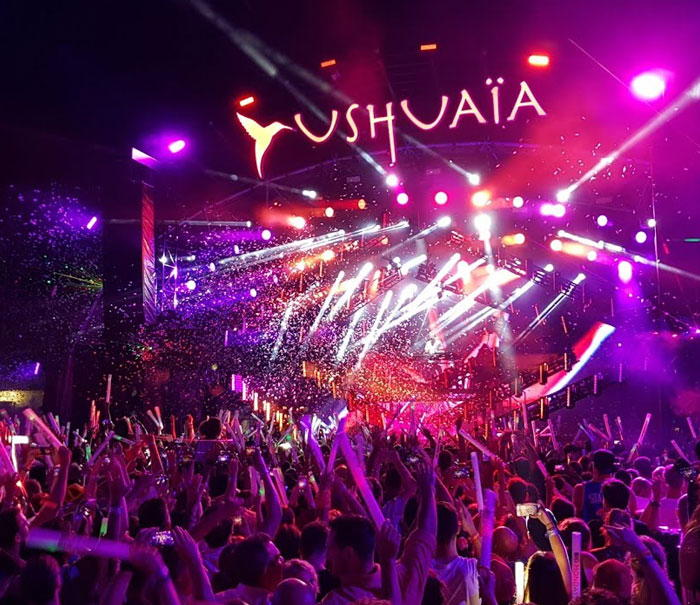 Calendar party Ushuais ibiza and tickets