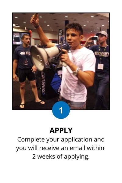 Diamond MMA Brand Ambassador