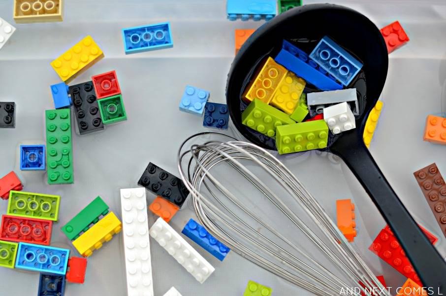 LEGO Sensory Bin