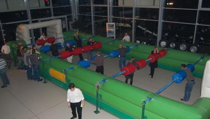 spielgalerie hamburg fußball human table soccer stange