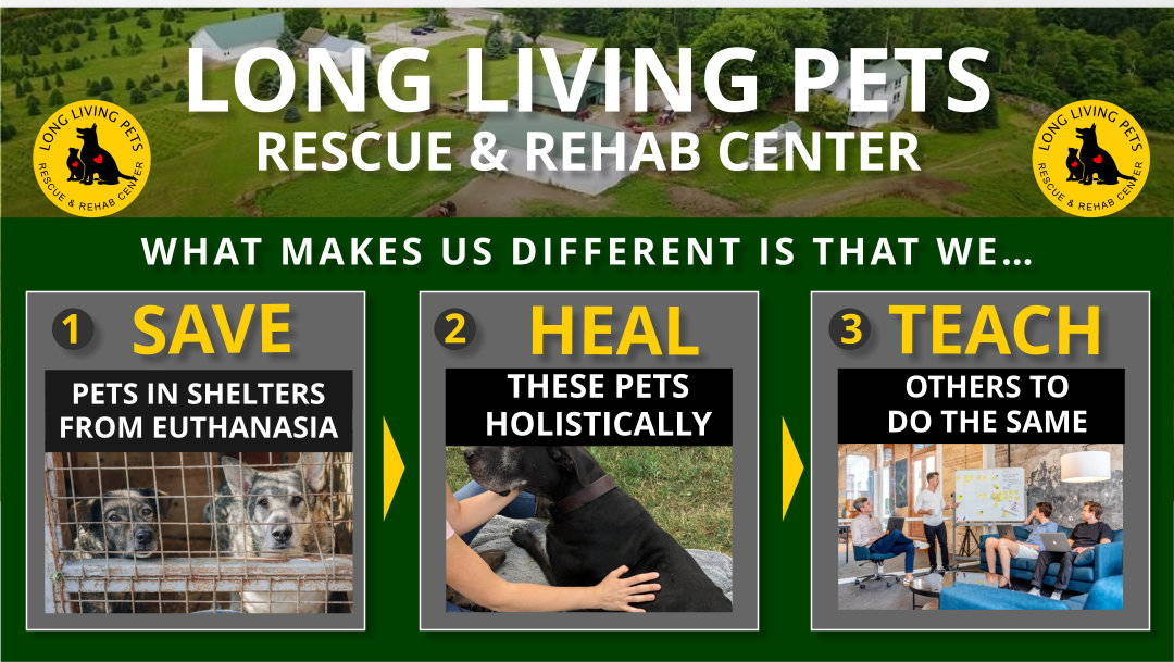 Long living pets rescue and rehab center
