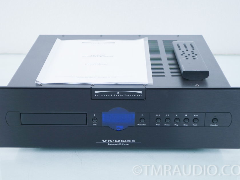 BAT VK-D5SE CD Player Superpak; New Tubes (8327)