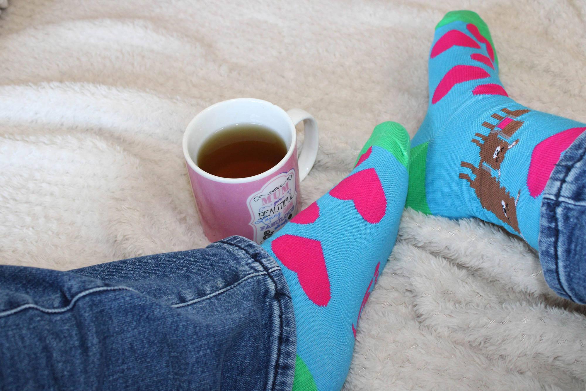 LLama Medium Size Jolly Soles Socks