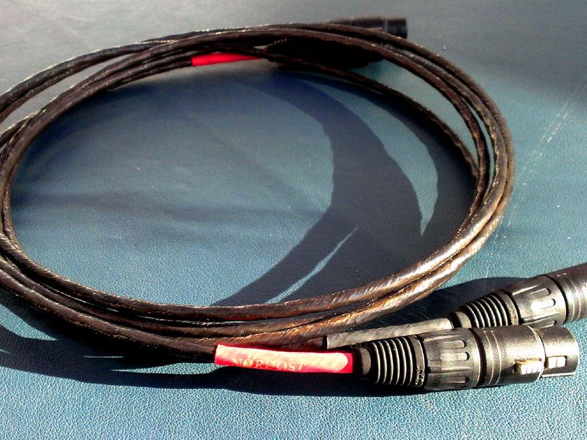 Nordost Quattro Fil Ref int 2m XLR Perfect condition