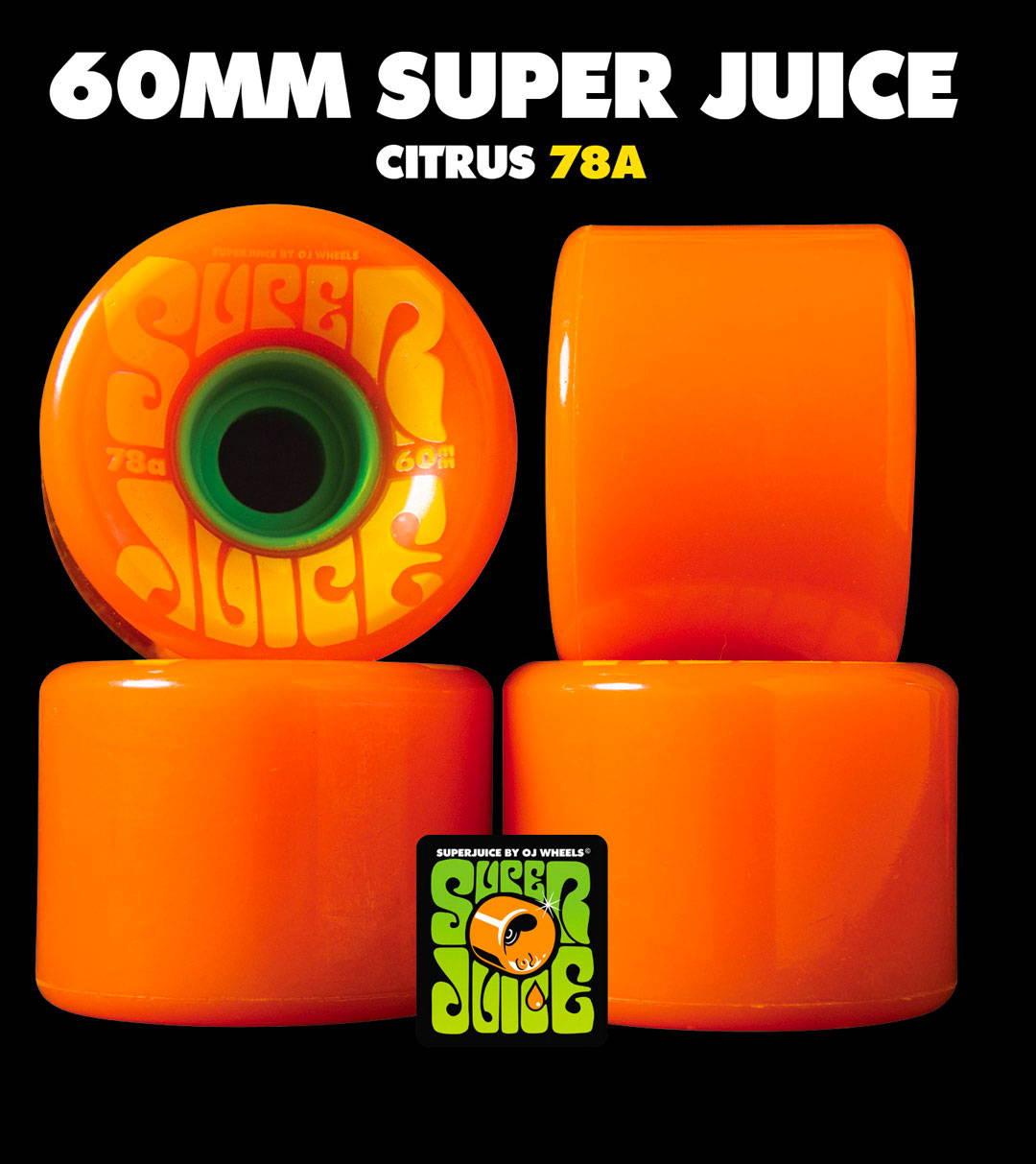 Ruote da skateboard OJ Wheels Super Juice