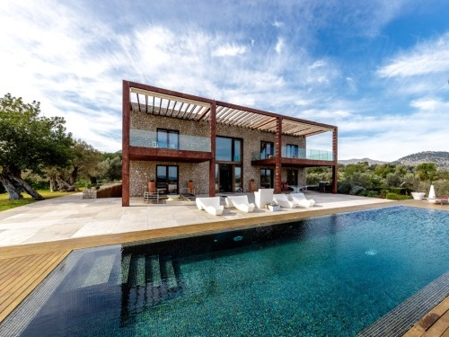 Puerto Andratx - Imposing property overlooking the bay of Pollensa, Mallorca
