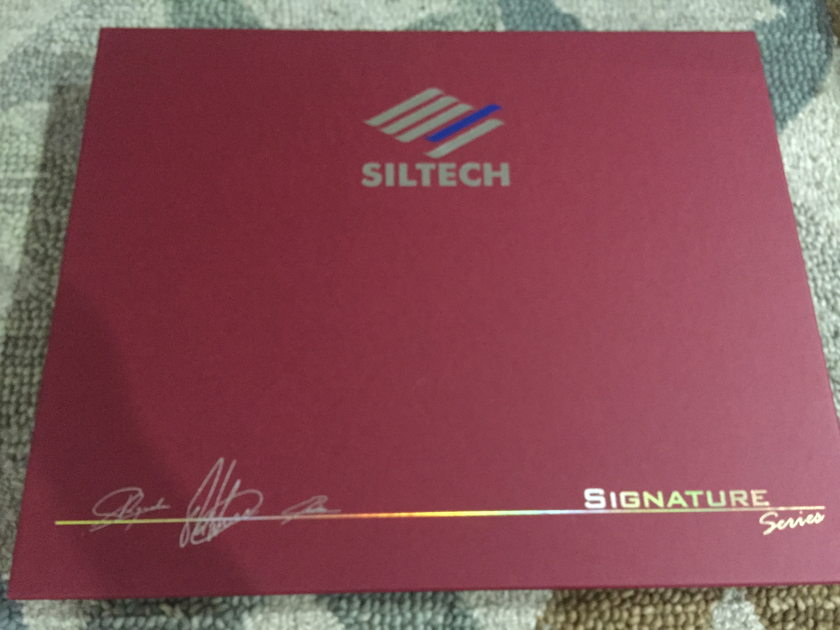 Siltech Cables Signature Series Ruby Hill II power cable 1.5m