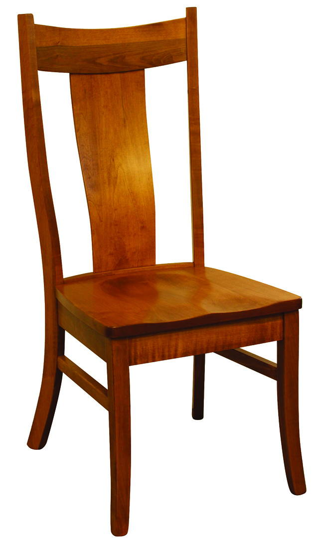 Eagle Solid Wood, Handcrafted Kitchen Chair or DIning Chair from Harvest Home Interiors Amish Furniture
