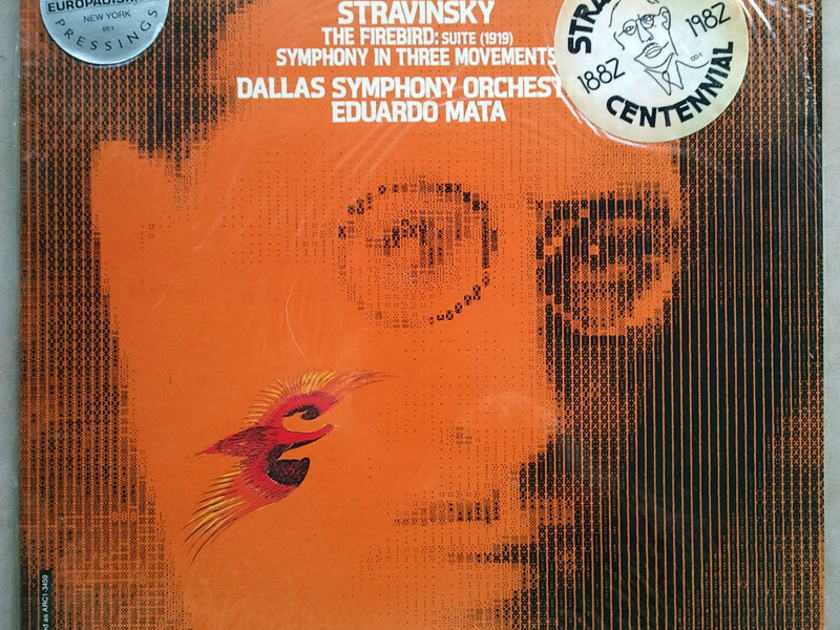 Sealed RCA Digital | MATA/STRAVINSKY - The Firebird Suite, Symphony in Three Movements / Audiophile Pressings - DEMO Copy