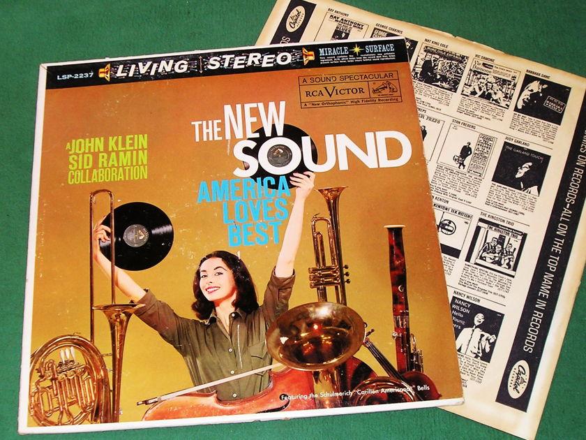 "JOHN KLEIN & SID RAMIN  ""The NEW SOUND ..."" - * RCA LIVING STEREO BLACK DOG - 1S/A1 1S/A1 ""I""  PRESS * NM 9/10"